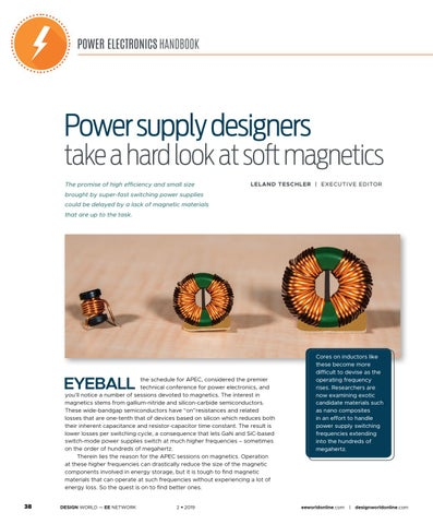 Page 40 of Power Supply Designers Take a Hard Look at Soft Magnetics