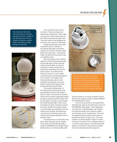 Page 47 of LED Bulbs Then and Now: Teardown of the EcoSmart 60-W Equivalent LED Bulb