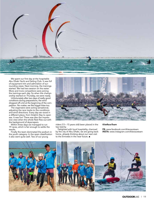 OutdoorUAE April-May 2019 page 19