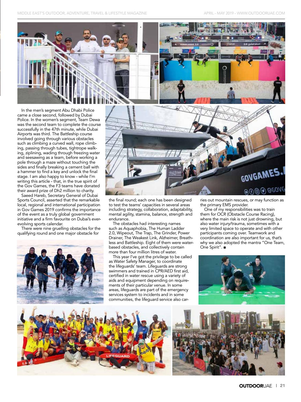 OutdoorUAE April-May 2019 page 21