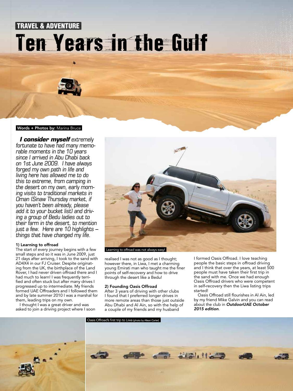 OutdoorUAE April-May 2019 page 38