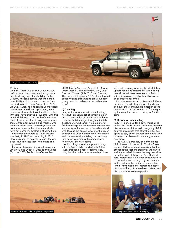 OutdoorUAE April-May 2019 page 39
