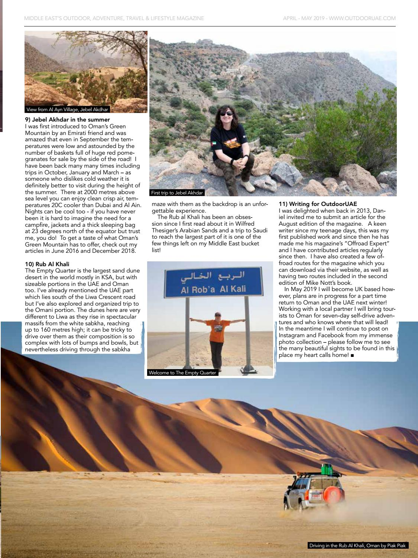 OutdoorUAE April-May 2019 page 41