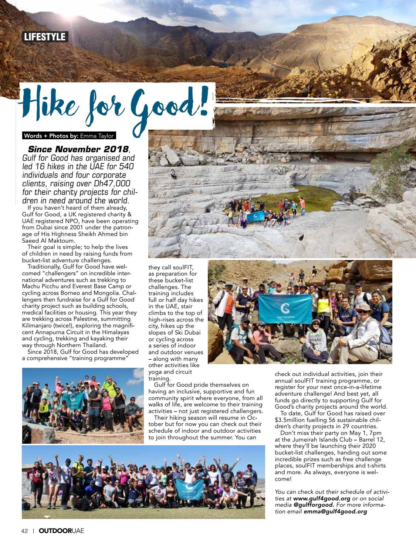 OutdoorUAE April-May 2019 page 42