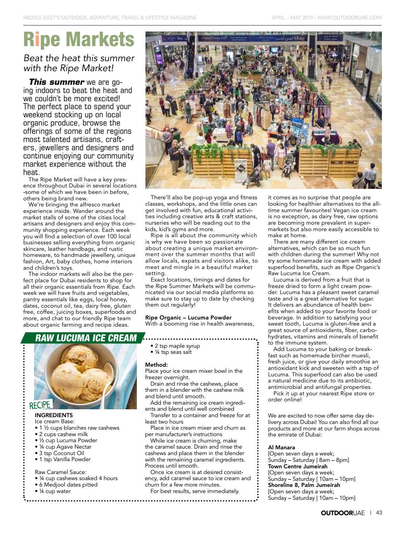 OutdoorUAE April-May 2019 page 43