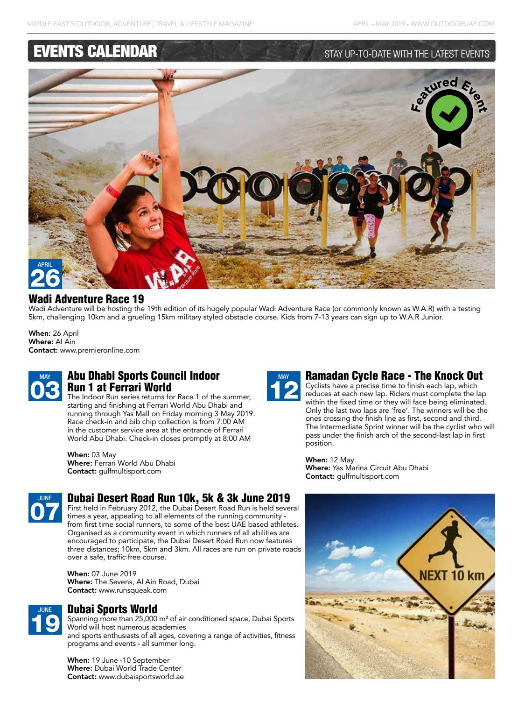 OutdoorUAE April-May 2019 page 6