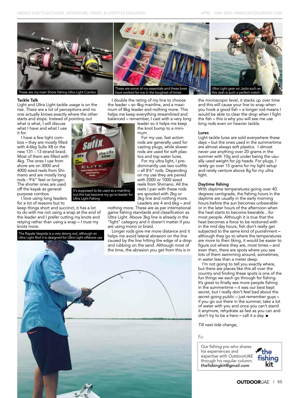 OutdoorUAE April-May 2019 page 65
