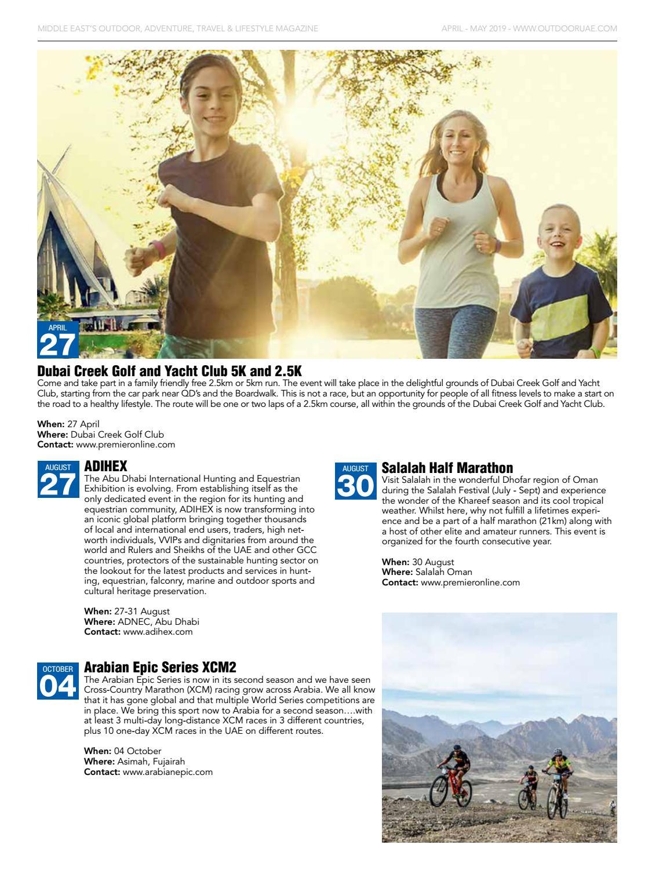 OutdoorUAE April-May 2019 page 7