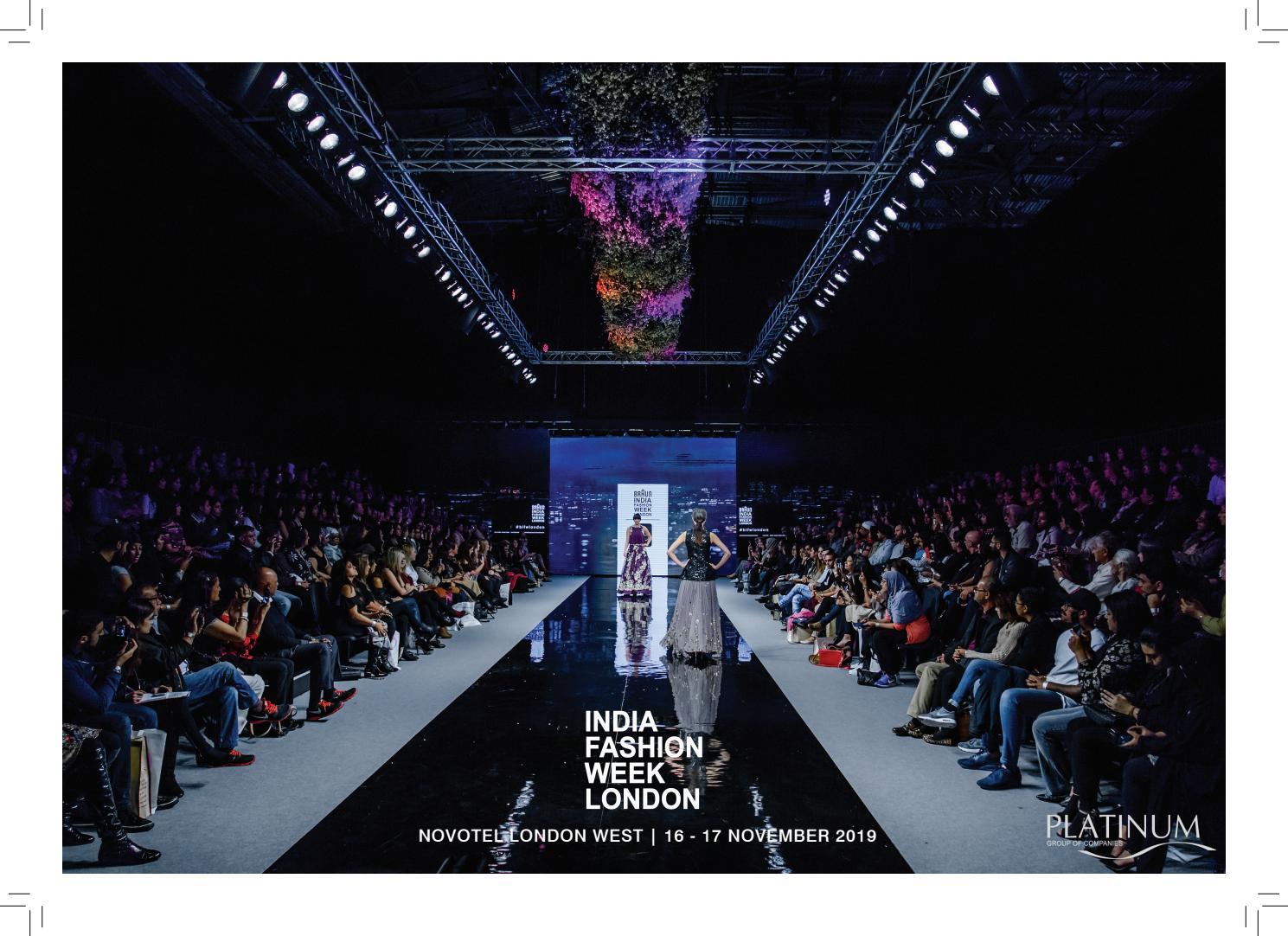 India Fashion Week London 2019 By Platinum Group Issuu