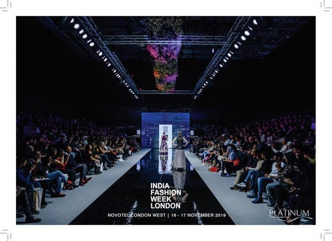 5f497e15af India Fashion Week London 2019 by platinum-group - issuu