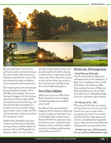 Page 11 of Welcome to the Talamore Golf Resort