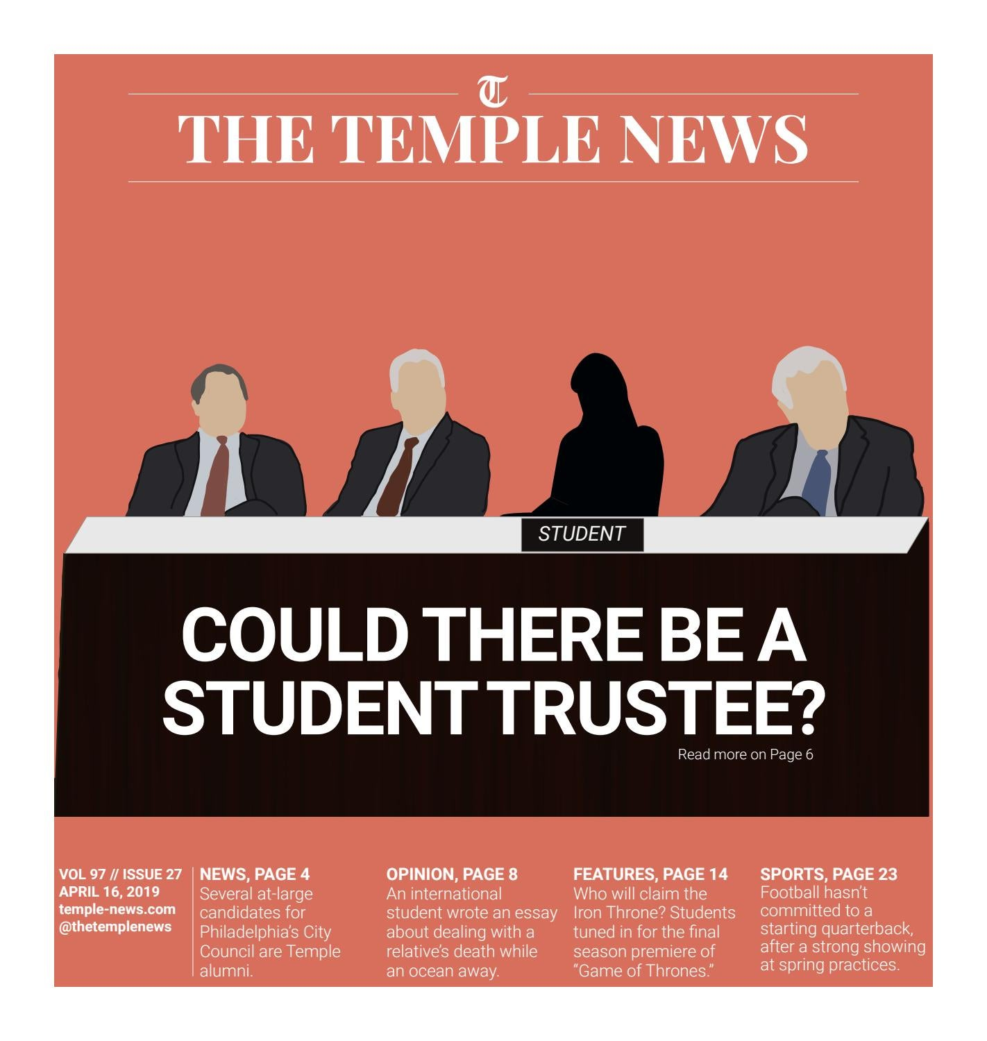 Vol  97 Iss  27 by The Temple News - issuu