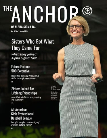 The Anchor: Spring 2019 by Alpha Sigma Tau National Sorority