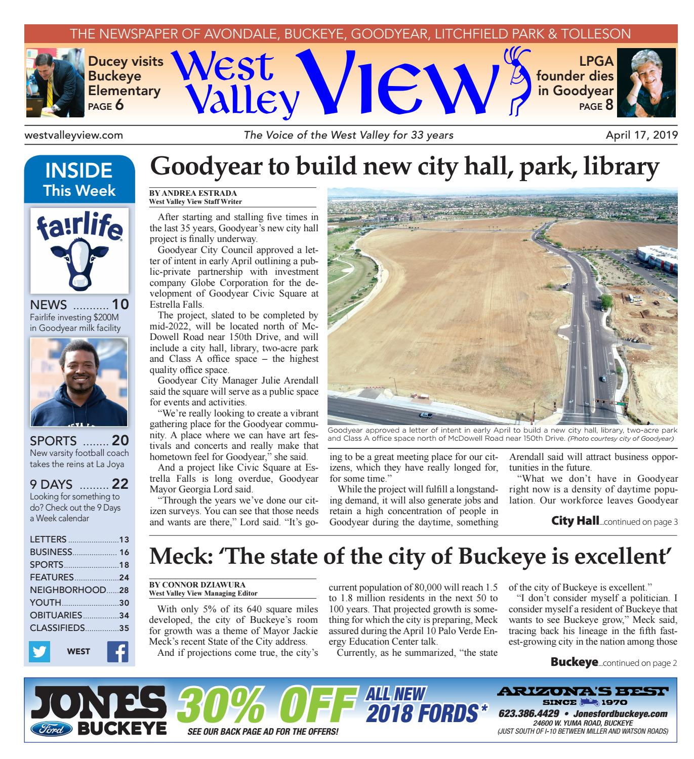 West Valley View: West 04-17-2019 by Times Media Group - issuu
