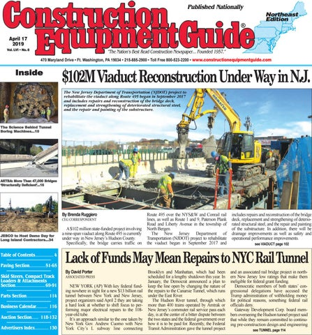 Northeast 8 April 17, 2019 by Construction Equipment Guide - issuu