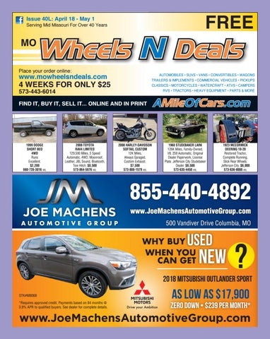Wheels N Deals Issue 40l By Maximum Media Inc Issuu