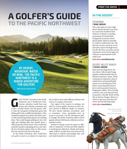 Page 3 of Destination Golf Pacific Northwest