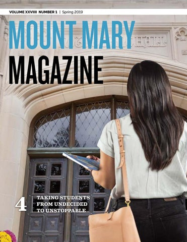 Mount Mary Magazine Spring 2019 by Mount Mary University - issuu on university of mary campus map, mount mary campus mail, marquette university map, mount st. mary's university, mount mary college milwaukee,