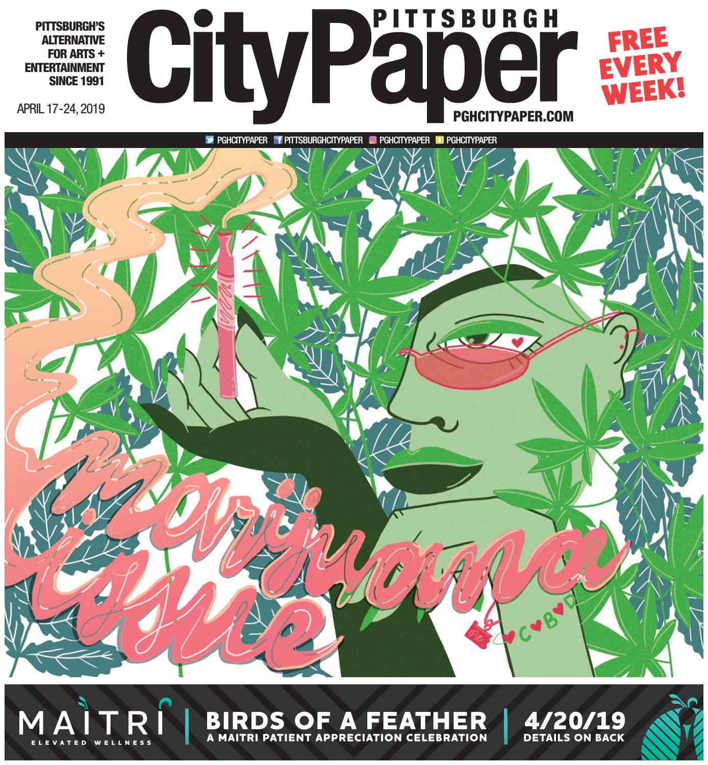 April 17, 2019 - Pittsburgh City Paper by Pittsburgh City