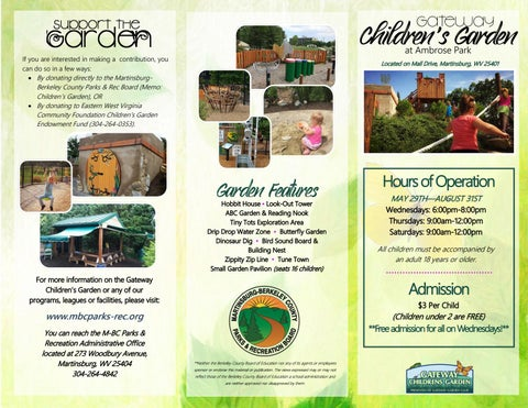 Page 1 of 2019 Gateway Children's Garden