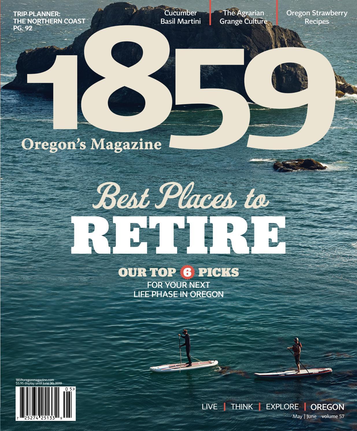 1859 Oregon's Magazine | May/June 2019 by Statehood Media - issuu