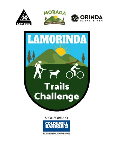 Page 1 of Lamorinda Trails Challenge Guidebook