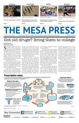 The Mesa Press, Spring 2019 Issue 4 by The Mesa Press - issuu