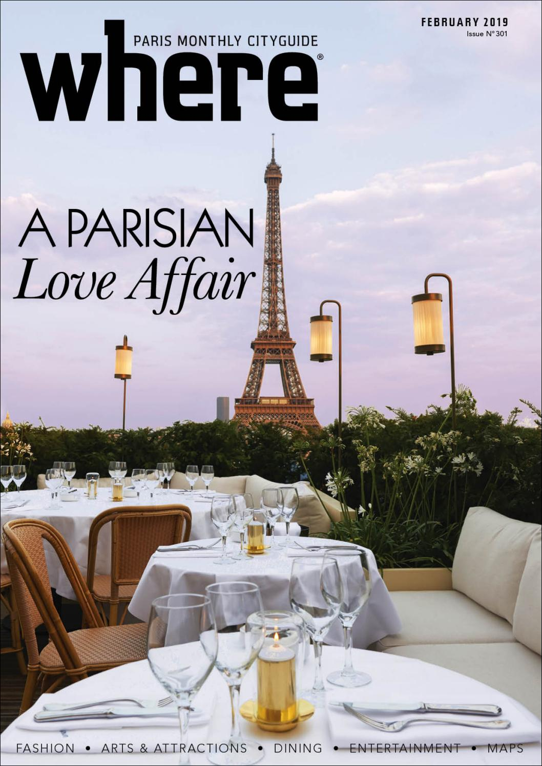 Diner Romantique Au Lit where magazine paris feb 2019morris media network - issuu