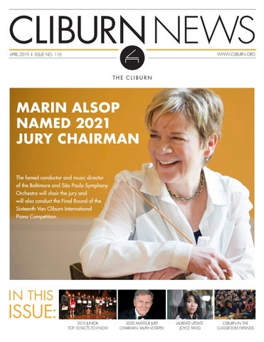 Cliburn News April 2019