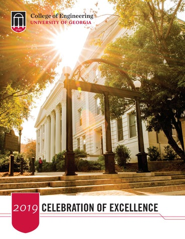 2019 Celebration of Excellence by UGA College of Engineering