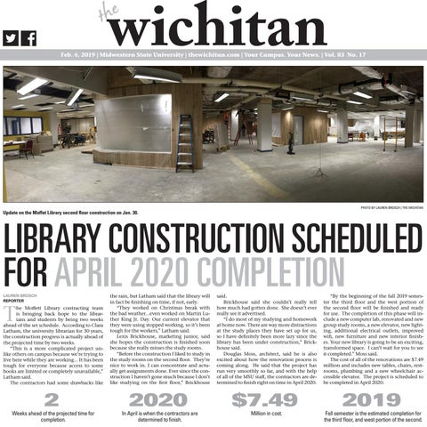 April 6, 2019 by The Wichitan - issuu