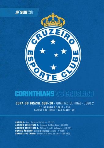 Corinthians X Cruzeiro Pk Digital Sub 20 17042019 By