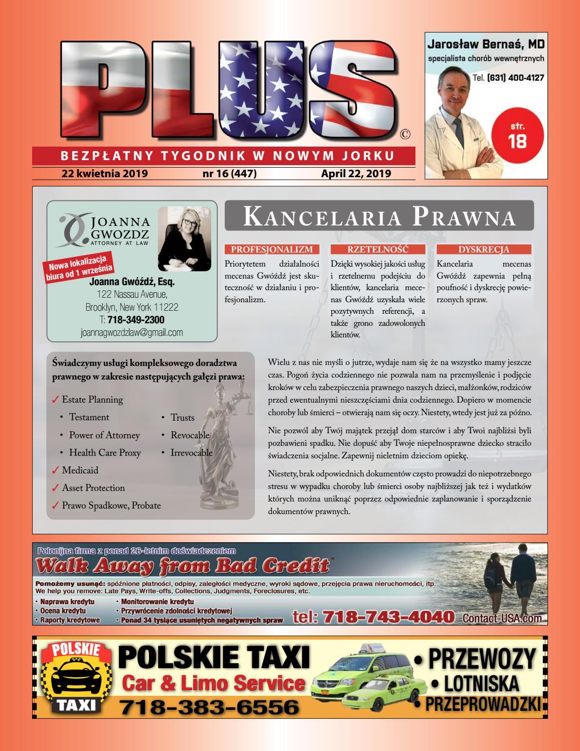 Najnowszy Numer Tygodnika Plus W Nowym J By Plus Media Group