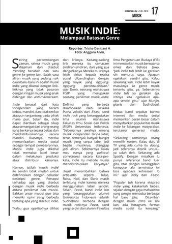 Page 17 of Musik Indie: Melampaui Batasan Genre