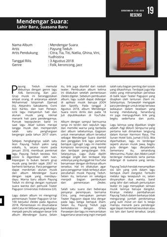 Page 19 of RESENSI: Mendengar Suara