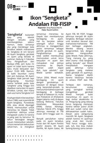 "Page 8 of Ikon ""Sengketa"" Andalan FIB-FISIP"