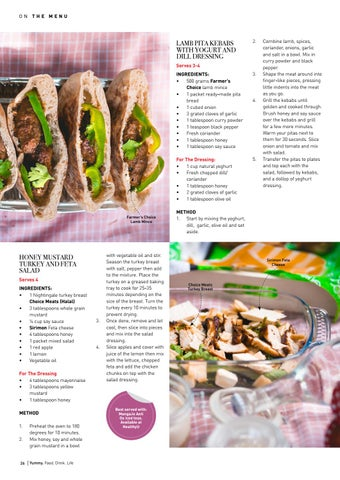 Page 26 of Pack & go: Honey Mustard Turkey & Feta salad
