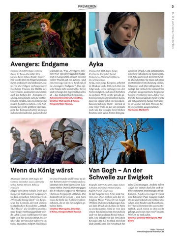 Page 3 of Kino in Frankfurt 16/2019