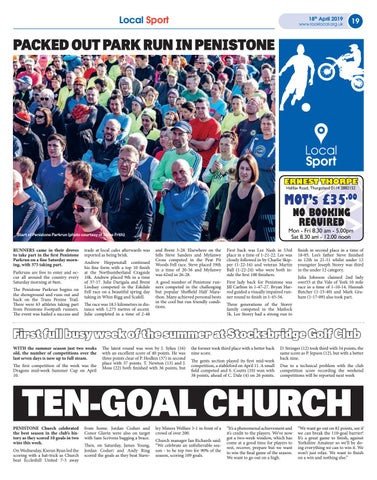 Page 19 of Packed out park run in Penistone