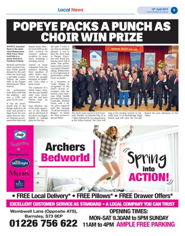Page 9 of Popeye packs a punch as choir win prize