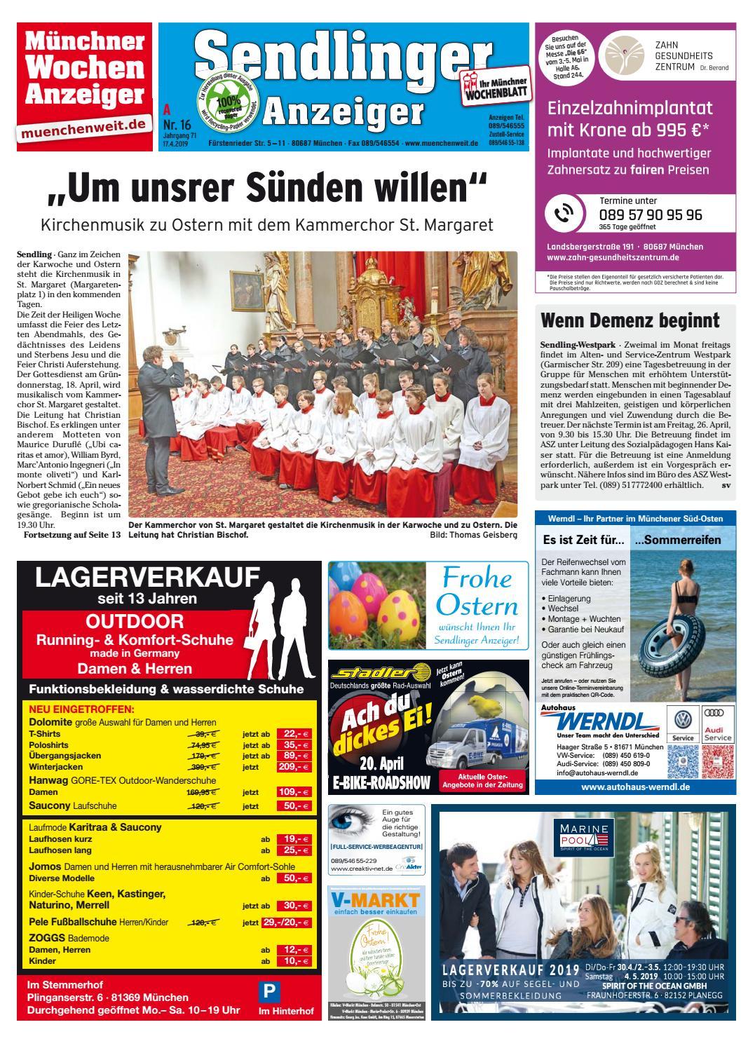 KW 16 2019 by Wochenanzeiger Medien GmbH issuu