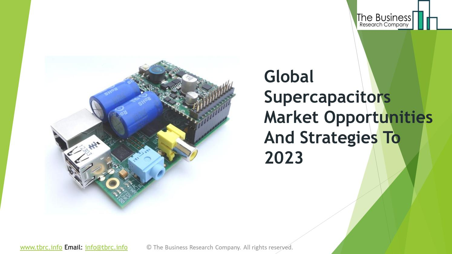 Supercapacitors Global Market Opportunities And Strategies