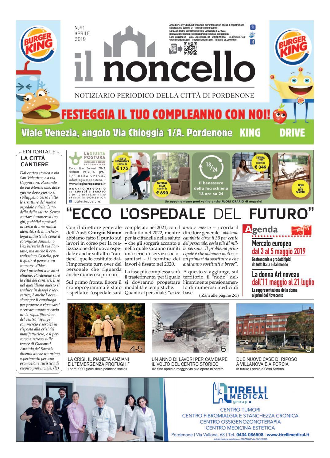 Ilnoncello Notiziario Di Pordenone Aprile 2019 By Lime Edizioni Milano Issuu