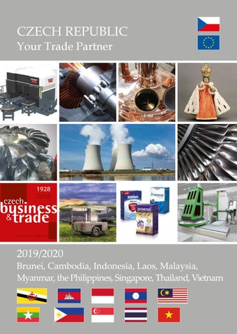 CZECH REPUBLIC Your Trade Partner 2019/2020 - Indonesia,Malaysia