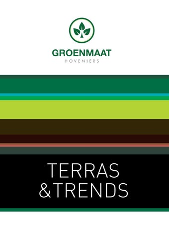 aa469e9169f41d Groenmaat by terrasentrends - issuu