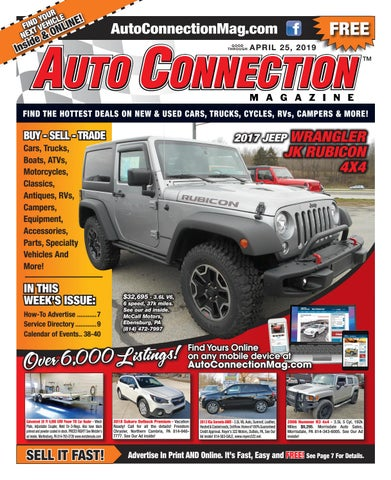 04-25-19 Auto Connection Magazine by Auto Locator and Auto