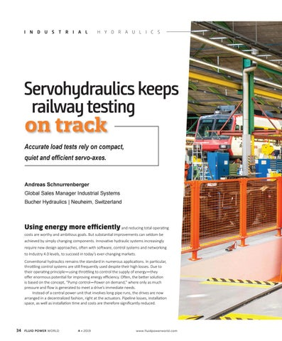 Page 36 of Servohydraulics keeps railway testing on track
