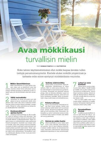Page 30 of Avaa mökkikausi turvallisin mielin