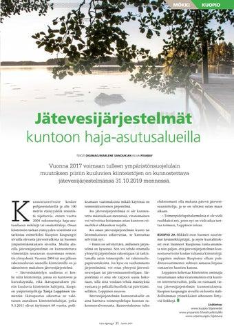 Page 31 of Jätevesijärjestelmät kuntoon haja-asutusalueilla