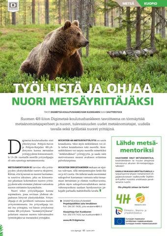 Page 49 of Työllistä ja ohjaa nuori metsäyrittäjäksi